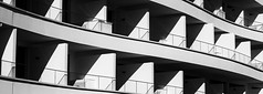 Hotel Rooms (shaunmck1) Tags: hotel blocks rooms blackandwhite monochrome pentax contrast shadow shadows abstract building square angles line shapes black white portimao curve portugal