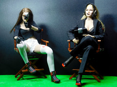 Interview (Cremdon) Tags: 16scale actionfigures fireredrose super8