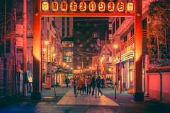 Wonder (Anthonypresley1) Tags: night japan neon street city asia tokyo road urban modern cityscape scene japanese architecture evening district asian downtown light nightlife traffic background view lights business landmark dark building travel people town twilight sign red skyline blur tourist colorful entertainment life sky abstract tourism bright blurred famous busy taxi illuminated highway anthony presley anthonypresley