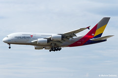 Asiana Airlines Airbus A380-841  |  HL7635  |  Frankfurt Rhein-Main  - EDDF (Melvin Debono) Tags: asiana airlines airbus a380841 | hl7635 frankfurt rheinmain eddf cn 183 melvin debono spotting canon plane planes photography airport airplane aviation aircraft fra deutschland germany