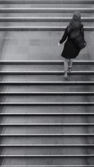 2019-04-13-190639_bw (Schmidtze) Tags: architektur ausflug bahnhof bahnhofostkreuz berlin berlinfriedrichshainkreuzberg berlinfriedrichshainkreuzbergfriedrichshain blackandwhite building einfarbig fototour friedrichshain gebäude mensch olympusepl9 olympusm918mmf4056 railwaystation schwarzweis stadt stair staircase treppe menschenleer
