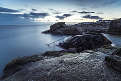 Forty Foot, Sandycove (darkmavis) Tags: beach dublin dublinbay fortyfoot ireland irish irishsea landscape nature sea seascape seaside shore sunrise swim water dúnlaoghairerathdown ie