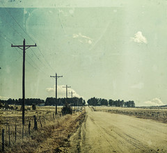 calling all cars (jssteak) Tags: canon colorado winter rural road dirtroad country fence powerpole aged vintage