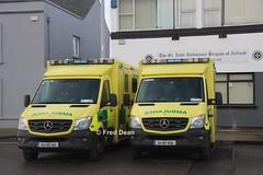 St. John Ambulance Brigade Mercedes-Benz Sprinter (142KK144/141KK456). (Fred Dean Jnr) Tags: stjohnambulancebrigade mercedesbenz sprinter 519 cdi 142kk144 141kk456 victoriaroadcork february2019 ambulance exhealthserviceexecutive exhse