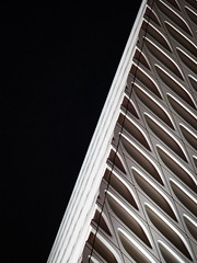 Broader contrast (Bryan Esler Photo) Tags: losangeles broadmuseum la night exterior architecture