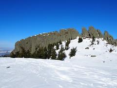 a Kakastaréj csúcs / the Creasta Cocoşului peak (debreczeniemoke) Tags: tél winter hó snow túra hiking erdő forest fa tree hegy mountain gutin gutinhegység gutinmountains sziklabérc piton kakastaréj creastacocoşului olympusem5
