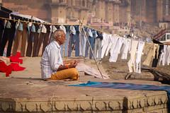 Varanasi | Uttar Pradesh (chamorojas) Tags: chamorojas albertorojas india india20182019 laundry uttarpradesh varanasi