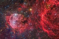 NGC3324 | Gabriela Mistral Nebula | LHaRGB (Steven Mohr) Tags: ngc3324 gabrielamistralnebula planewavecdk125 stxl11002 aox