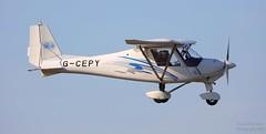 Ikarus C42 FB80 G-CEPY Lee on Solent Airfield 2019 (SupaSmokey) Tags: ikarus c42 fb80 gcepy lee solent airfield 2019