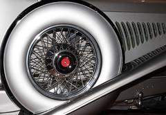 1931 Duesenberg J-495 Beverly Berline Spare and Exhaust (ksblack99) Tags: duesenberg 1931 j495 beverly berline automobile classiccar gilmorecarmuseum hickorycorners michigan sparetire exhaust