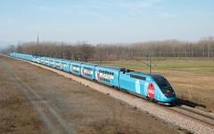 TGV DASYE Ouigo 778 Dragon Ball Super et 779 (SylvainBouard) Tags: train railway sncf ouigo tgvdasye