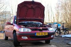 Mission accomplished! (Skylark92) Tags: nederland netherlands holland noordholland northholland amsterdam peugeot 106 14i accent tsjl88 1998 onk diy gearbox change doe het zelf versnellingsbak wissel