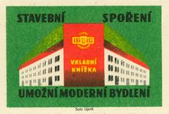 czechoslovakian matchbox labels (maraid) Tags: czechoslovakia czech czechoslovakian matchbox labels stsp savings bank building savingsbook label packaging