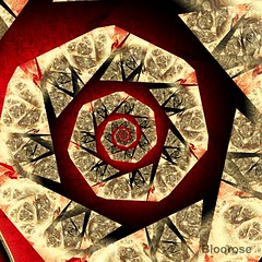 The Vanishing Approach (bloorose-thanks 4 all the faves!!) Tags: ultrafractal uf fractal digital art abstract spiral sharing