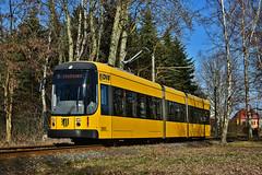 Bombardier NGTD8DD #2628 DVB Dresden Drezno (3x105Na) Tags: bombardier ngtd8dd 2628 dvb dresden drezno deutchland germany niemcy sachsen saksonia strassenbahn strasenbahn tram tramwaj hellerau gleisschleife
