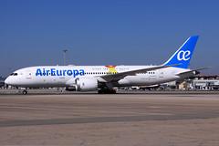Air Europa  Boeing 787-8 Dreamliner EC-MLT (widebodies) Tags: madrid mad lemd widebody widebodies plane aircraft flughafen airport flugzeug flugzeugbilder air europa boeing 7878 dreamliner ecmlt