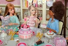 Today the most famous doll in the world is 60 years old. More than 50 years delighting and inspiring kids and adults.😊 Happy Birthday, Barbie! 🎂🎉🎁🎈 (♥ Little Enchanted World ♥) Tags: barbie doll anniversary birthady wishes partu family friends midge stacie ken african cute collector 60th mattel lovely diorama little enchanted world