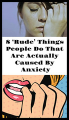 8 'Rude' Things People Do That Are Actually Caused By Anxiety (healthylife2) Tags: 8 'rude' things people do that are actually caused by anxiety