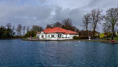 Rouken Glen boat pond (Rourkeor) Tags: 35mm 35mmzeisssonnartlens carlzeiss eastrenfrewshire rx1r roukenglen scotland sony uk cloudy fullframe park pond reflections showers water waterreflections winter glasgow unitedkingdom gb
