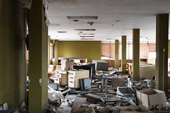 On strike (The Urban Tourist) Tags: urbanexploration urbex abandoned abandonedoffice abandonedfactory industrial
