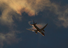 Condensation clouds in Norwegin Boeing 787 (vic_206) Tags: condensation norwegian boeing787