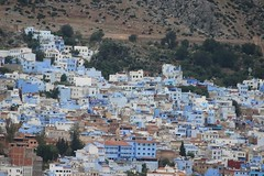 Chefchaouen Panoramic (Buster&Bubby) Tags: lookout bluecity chefchaouenlookout morocco chefchaouen rifmountains maroc