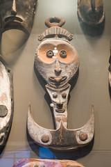 New Guinea Hakka god (quinet) Tags: 2017 amsterdam antik netherlands schnitzerei tropenmuseum ancien antique carving museum musée sculpture
