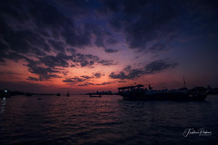 Early morning (fredericpecheux) Tags: chaudoc mekong asie asia canon vietnam landscape sky river boat happyplanet asiafavorites