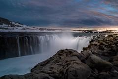 Iceland Waterfall part 1 (RigieNL) Tags: iceland nature landscape landscapelovers europe europa sony sky sun roadtrip insta instagram pink purple cloud dreamscape water waterfall waterscape