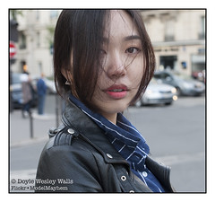 Hyeran, Portrait on a Street in Paris (Doyle Wesley Walls) Tags: 0224 woman girl female beauty sensual eyes ojos yeux blick ögon ogen occhi olhos face cara faccia tvář ansigt gezicht gesicht beautiful beau piękny bonita hermosa guapa vacker smuk kaunis bonito lindo frumos schön skjønn fallegur bello sexy séduisant seksowny seductor sexig sexet gorgeous stunning charming photograph portrait feminine lovely joyful femenino féminin mujer femme donna mädchen ragazza flicka fille chica retrato ritratto porträt portret elegant lips hyeran doylewesleywalls lippen labbra lèvres kvinde ガール weiblich
