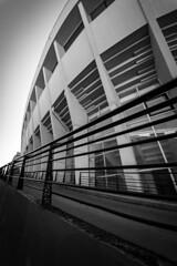 Palais des sports wide angle (matraffy) Tags: marchévictorhugo bordeaux wideabgle palaisdessports