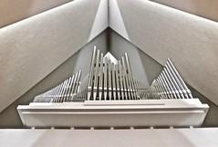 The organ of the Arctic Cathedral (Kumukulanui) Tags: organ church cathedral ishavskatedralen tromsdalenchurch flickrsbest tromsø troms