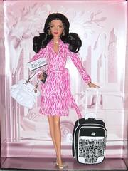 2006 Diane von Furstenberg Barbie (2) (Paul BarbieTemptation) Tags: 2006 gold label designer diane von furstenberg barbie sharon zuckerman