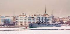 Croiseur Aurore, Saint-Petersbourg (yvon.kerdavid) Tags: navire aurore musée croiseur leningrad saintpetersbourg neva russie bateau