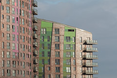 Colours (Davescunningplan) Tags: leeds docks tower blocks building architecture colourful pretty urban