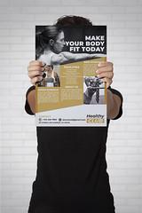 FITNESS MOCKUP (ismailrajib) Tags: aprobado fitness adobe illustratot photoshop design cheap affordable logo sample business