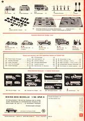 Wiking-1973-6 (adrianz toyz) Tags: wiking west germany berlin plastic models 187 ho 190 catalogue brochure list model adrianztoyz scale verkehrs modelle car bus truck lorry van 1973 prospekte n gauge 1160 klassischermodelle