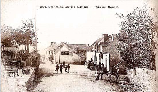 Rue du Desert - 1908