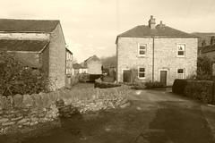 Cottages off Bridge St, Bradwell, Derbyshire (dave_attrill) Tags: cottages bridgestreet brook bradwell derbyshire peakdistrict nationalpark hopevalley village historic street february 2019 winter sepia