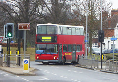 REDROUTE - LK05GHG - ELTHAM ROAD - SAT 16TH FEB 2019 (Bexleybus) Tags: eltham road south east london rail replacement bus service eastern trains bexleyheath line land slide 2019 red route redroute buses lk05ghg