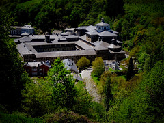 MONASTERIO DE SAMOS, CAMINO DE SANTIAGO. (nona delgado) Tags: camino de santiago monasterio samos