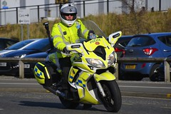 LG66 OHB (S11 AUN) Tags: durham constabulary yamaha fjr 1300 police motorbike policebike motorcycle rpu roads policing unit 999 emergency vehicle lg66ohb