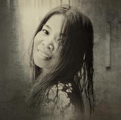 le sentiment d'amour (JDS Fine Art Photography) Tags: portrait model monochrome thelook feelings sweet