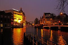 Amsterdam2014_083 (schulzharri) Tags: holland niederlande netherlands europa europe travel reise water gracht amsterdam wasser city stadt boot fluss gebäude himmel fenster architektur