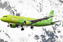 VQ-BPN (toptag) Tags: airbusa320214 vqbpn s7 sibir inn lowi innsbruck aviation mountain snow winter tirol austria