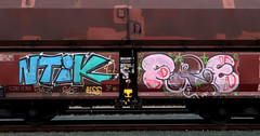 Graffiti on Freights (wojofoto) Tags: graffiti amsterdam nederland netherland holland freighttraingraffiti freighttrain fr8 freights vrachttrein cargotrain wojofoto wolfgangjosten antik frei