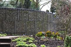 Stone Wall (Bruce82) Tags: 97 97of119 stone canoneos5dmarkiii 119picturesin2019 ef100400mmf4556lisiiusm wall rhshydehall woodlandgarden robinsongarden