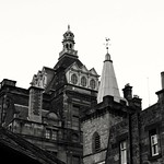 Edinburgh roofs