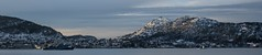 Naval training in the fjord (Wouter de Bruijn) Tags: fujifilm xt2 fujinonxf35mmf14r navy naval german germany deutschland netherlands dutch ship boat submarine landscape mountain mountains fjord water sun snow winter cold sunlight panorama panoramic nature outdoor bergen hordaland norway norge