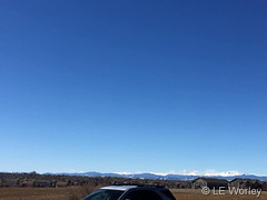 March 9, 2019 - Clear skies but plenty of wind. (LE Worley)